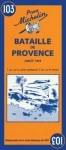 Michelin Battle of Provence Map No. 103 - Michelin Travel Publications