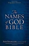 KJV Names of God Bible Hardcover - Ann Spangler