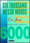 Six Thousand Welsh Words - Ceri Jones