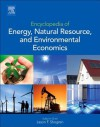 Encyclopedia of Energy, Natural Resource, and Environmental Economics - Jason F. Shogren