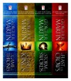 A Game of Thrones 4-Book Bundle: A Song of Ice and Fire Series: A Game of Thrones, A Clash of Kings, A Storm of Swords, and A Feast for Crows - George R.R. Martin