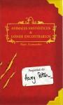 Animales fantásticos y dónde encontrarlos - Newt Scamander, J.K. Rowling