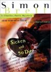 Sicken and So Die (Charles Paris Series #16) - Simon Brett, Geoffrey Howard