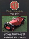 MG Gold Portfolio, 1929-1939 - R.M. Clarke