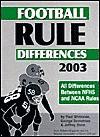 Football Rule Differences 2003 - Jeffrey Stern, George Demetriou