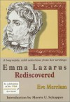 Emma Lazarus Rediscovered - Eve Merriam