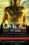 The Mortal Instrument Series: City of Bones; City of Ashes; City of Glass; City of Fallen Angels - Cassandra Clare