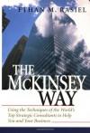 The McKinsey Way - Ethan M. Rasiel