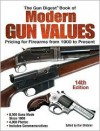 The Gun Digest Book of Modern Gun Values: Pricing for Firearms from 1900 to Present - Dan Shideler