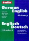 Berlitz German-English Dictionary/Worterbuch Englisch-Deutsch - Berlitz Publishing Company