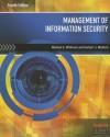 Management of Information Security - Michael E Whitman, Herbert Mattord