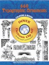 660 Typographic Ornaments CD-ROM and Book - Dover Publications Inc.