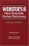 Webster's II New Riverside Pocket Dictionary - Merriam-Webster, Merriam-Webster