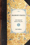Bradbury's Travels in the interior of America, 1809-1811 - John Bradbury