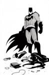 Batman Black and White #4 - Nathan Edmondson, Dustin Nguyen, Mike Allred, Lee Allred, David Macho Gomez, Sean Galloway, Kenneth Rocafort, Ruben Pellejero, Amanda Conner