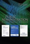 Public Administration: 25 Years of Analysis and Debate - R.A.W. Rhodes