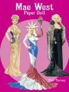 Mae West Paper Doll - Tom Tierney