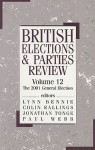 British Elections and Parties Review, Vol. 12 - Lynn Bennie, Colin Rallings, Paul Webb, Jonathan Tonge