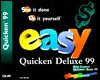 Easy Quicken Deluxe 99: See It Done, Do It Your- Self - Que Corporation, Lisa A. Bucki