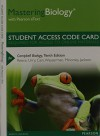 MasteringBiology with Pearson eText -- Standalone Access Card -- for Campbell Biology (10th Edition) - Jane B. Reece, Lisa A. Urry, Michael L. Cain, Steven A. Wasserman, Peter V. Minorsky, Robert B. Jackson