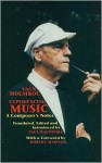 Experiencing Music: A Composer's Notes - Vagn Holmboe