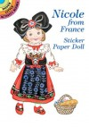 Nicole from France Sticker Paper Doll - Yuko Green