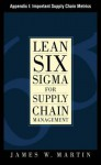 Lean Six SIGMA for Supply Chain Management, Appendix I - Important Supply Chain Metrics - James J. Martin