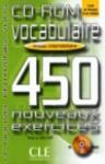 Vocabulaire 450 Exercises CD-ROM (Intermediate) - Various, Sirejols