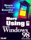 More Using Windows 98 - Michael Meadhra