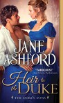 Heir to the Duke (The Duke's Sons) - Jane Ashford