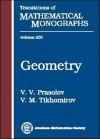 Geometry - V.V. Prasolov, Vladimir M. Tikhomirov