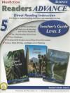 Readers Advance� Teacher�s Guide Level 5 with CD-ROM, Grade 5 - Mark Twain Media