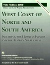 Tide Tables 2000: West Coast of North and South America, Including the Hawaiian Islands - International Marine