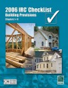 2006 IRC Checklist - Building Provisions, Chapters 1-11 - International Code Council