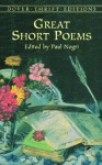 Great Short Poems - Paul Negri