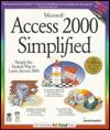 Microsoft Access 2000 Simplified - maranGraphics Development Group