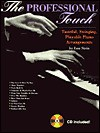 The Professional Touch: Tasteful, Swinging, Playable Piano Arrangements, Book & CD [With CD] - Lou Stein