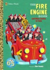 The Fire Engine Book and Other Stories to Color (Super Coloring Book) - Golden Books, Tibor Gergely