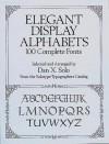 Elegant Display Alphabets - Dan X. Solo