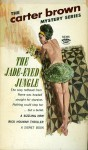 Jade Eyed Jungle - Carter Brown, Alan Geoffrey Yates