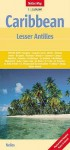 MAP: Caribbean Lesser Antilles Map by Nelles - NOT A BOOK