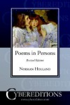 Poems in Person - Norman Norwood Holland