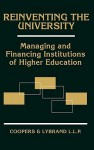 Reinventing the University: Managing and Financing Institutions of Higher Education - Coopers & Lybrand