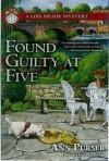 Found Guilty at Five - Ann Purser