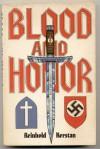 Blood and honor - Reinhold Kerstan