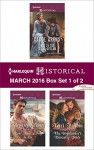 Harlequin Historical March 2016 - Box Set 1 of 2: Wed to the Texas OutlawRake Most Likely to SinThe Highlander's Runaway Bride (The Walker Twins) - Carol Arens, Bronwyn Scott, Terri Brisbin
