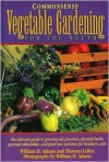Commonsense Vegetable Gardening for the South - William D. Adams