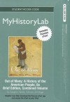 MyHistoryLab Pegasus with Pearson eText Student Access Code Card for Out of Many Brief Combined (standal - John Mack Faragher, Mari Jo Buhle, Daniel Czitrom, Susan H. Armitage