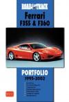 Road & Track Ferrari F355 & 360 Portfolio 1995-2002 - R.M. Clarke, Brooklands Books