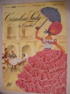 Crinoline Lady in Crochet, clark'sO.N.T. J. & P. Coats Crinoline Lady, Book No. 262 - The Spool Cotton Company, Illustrated